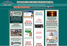 Carroll County Chamber Website